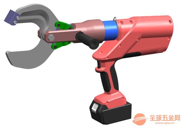 玉环电动液压剪 EZ-85C开口式电缆切刀 C型口充电式液压电缆剪刀