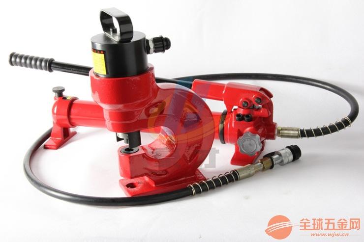 槽钢冲孔机CH-60液压冲孔机铜排冲孔器开孔器电动手动打孔机器