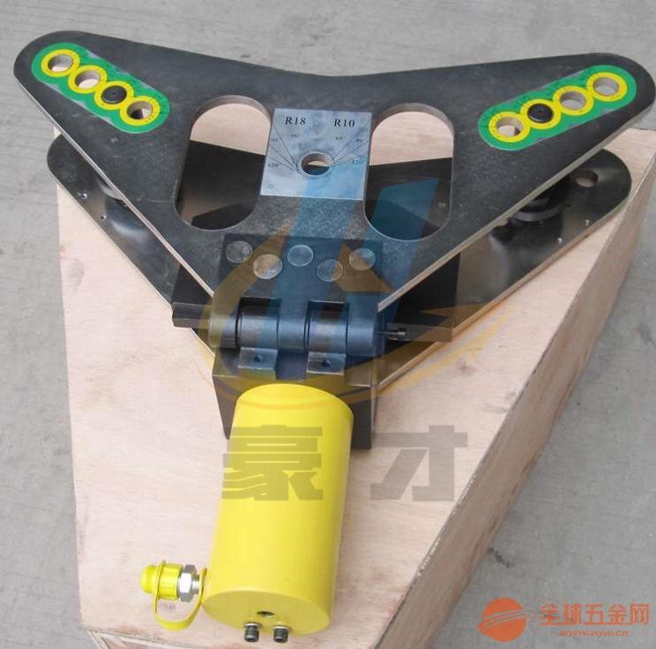 玉环电力工具CB-125D铜铝排母线加工机折弯机平立弯一体液压弯排机
