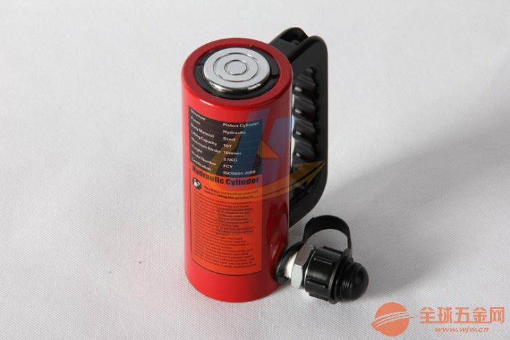 FCY-10150分离液压千斤顶 加长型油缸10T行程150手动千斤顶
