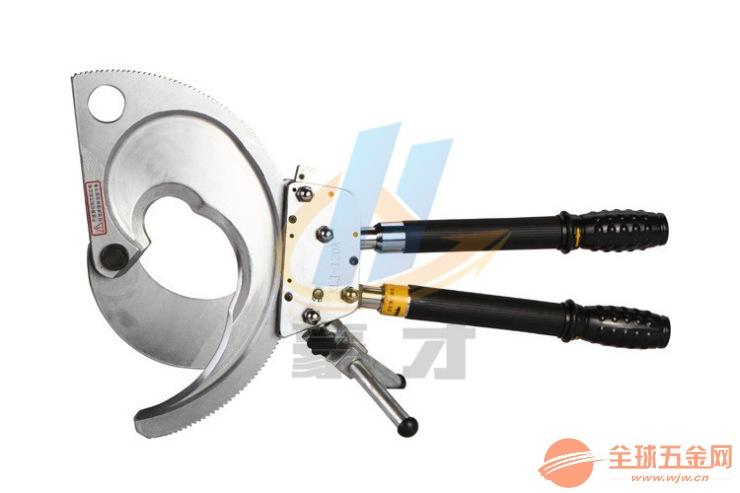 XLJ-130A电缆剪 机械式断线剪刀 130mm棘轮式线缆电缆剪批发