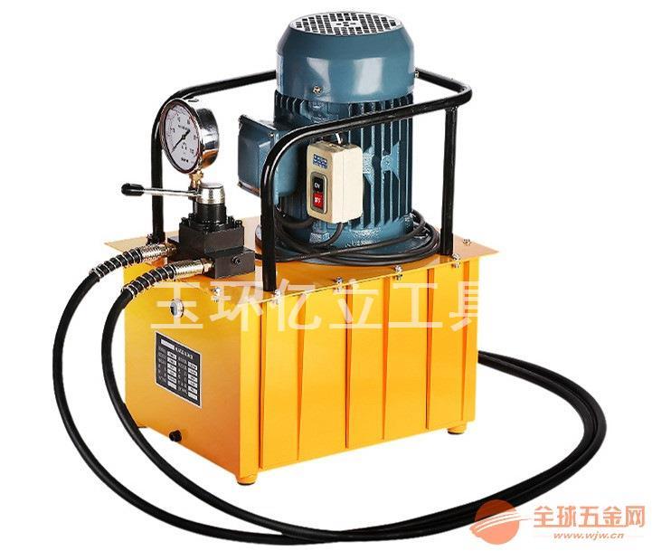 高压电动泵浦3.0KW脚踏液压泵双回路油压泵2.2KW电磁阀电动泵
