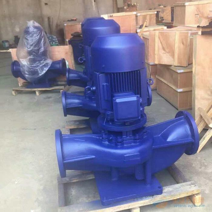 单级单吸管道泵ISG50-125管道泵性能