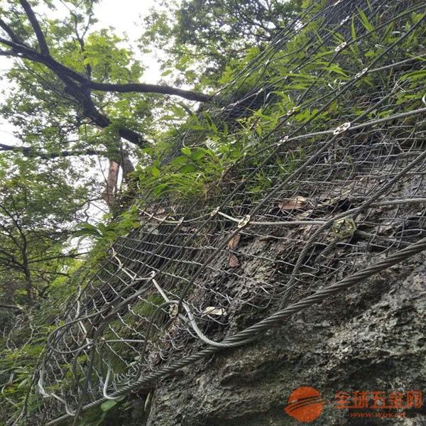 防坠落安全边坡防护网被动网环形网厂家直销