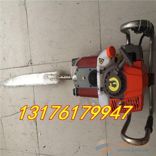 汽油2冲程铲式挖树机 便携式铲式挖树机 冲击力强挖树机