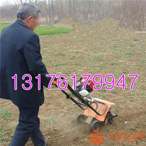 小型大棚旋耕机 花园苗圃旋耕机 农用翻土机