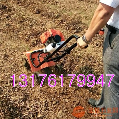 小型松土机旋耕机 轻便小型旋耕机 汽油式旋耕机
