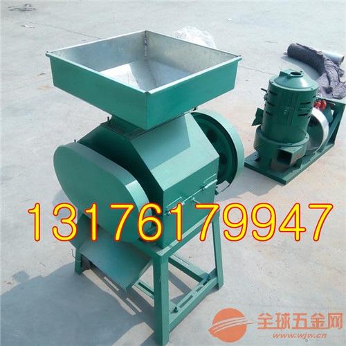 电动小型豆扁机粮食多功能挤扁机