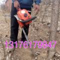 黑龙江汽油便携式挖树机 冻土层汽油链条挖树机