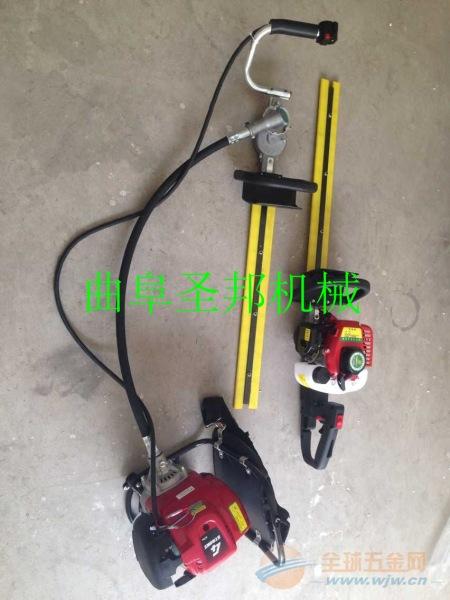 汽油便携式绿篱机 高品质绿化修剪绿篱机