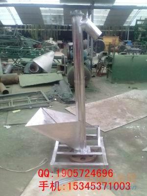 垂直面粉上料机 不锈钢蛟龙提升机 立式螺杆加料机
