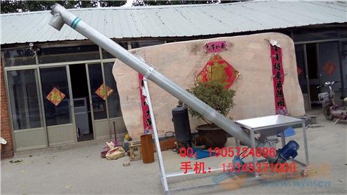 耐腐蚀蛟龙提升机 不锈钢淀粉上料机 食品厂用提升机
