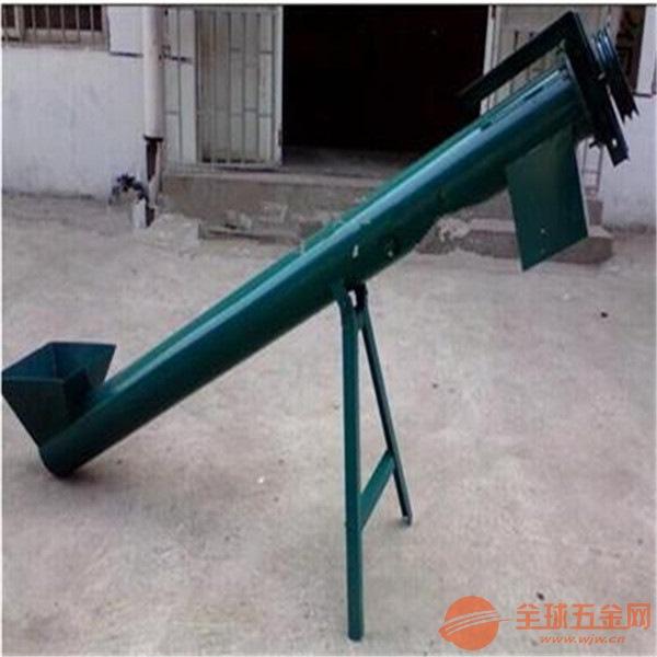 水泥粉螺旋提升机 粉剂蛟龙上料机 搅拌机用送料机Lj3