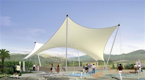 商河园林景观膜结构