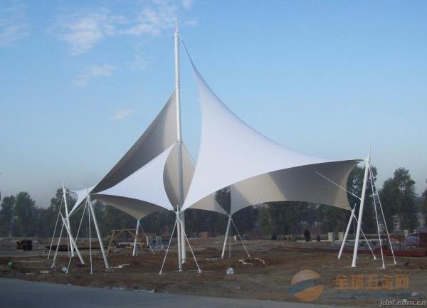 锡林郭勒园林景观膜结构