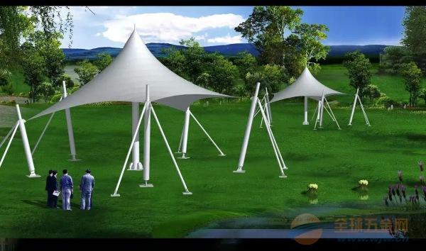 五华园林景观膜结构