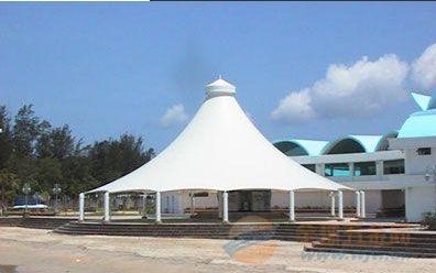 蔡甸园林景观膜结构