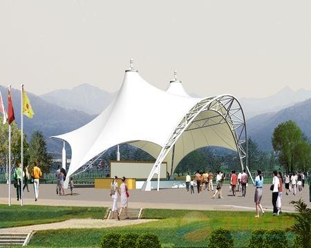 江夏园林景观膜结构