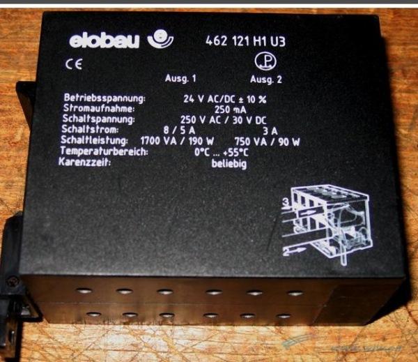 德国elobau(爱乐宝)安全继电器462121e1u1