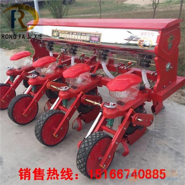 玉米播种机新型免耕玉米播种机大拖拉机配套大豆播种机