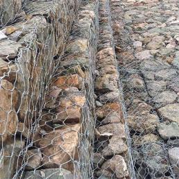 镀锌格宾石笼网
