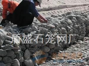 西藏日客则镀锌铅丝石笼网