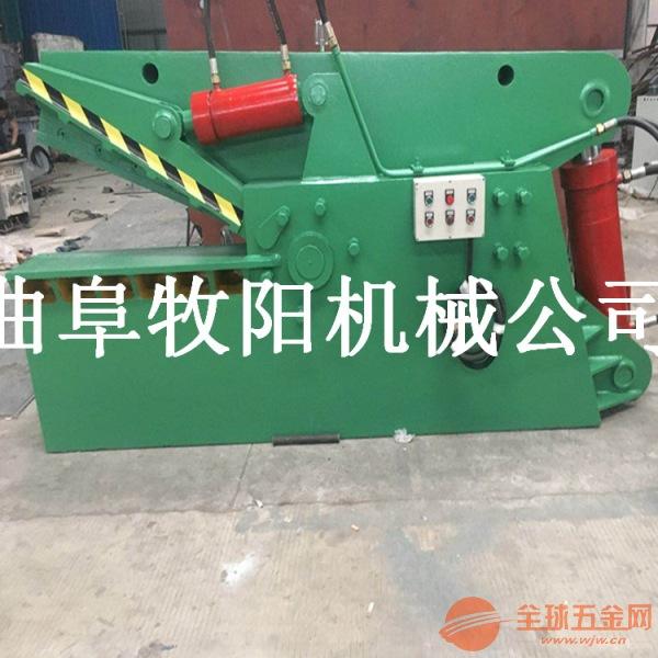 双鸭山废钢废铁液压剪切机 鳄鱼式钢筋剪切机 多功能废旧金属鳄鱼剪切图片