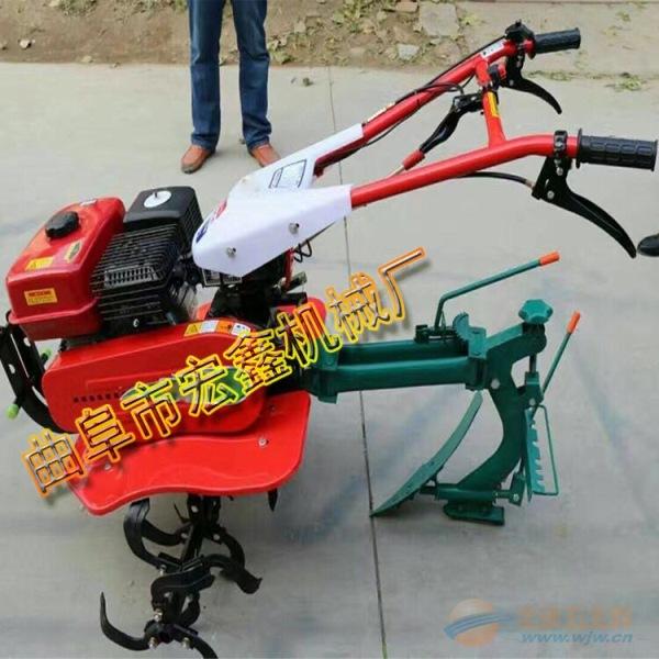 大葱大姜专用开沟培土机