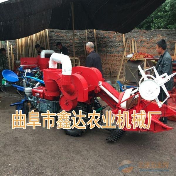 麦子联合收割收获机