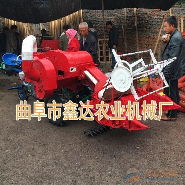 谷子麦子联合收获机