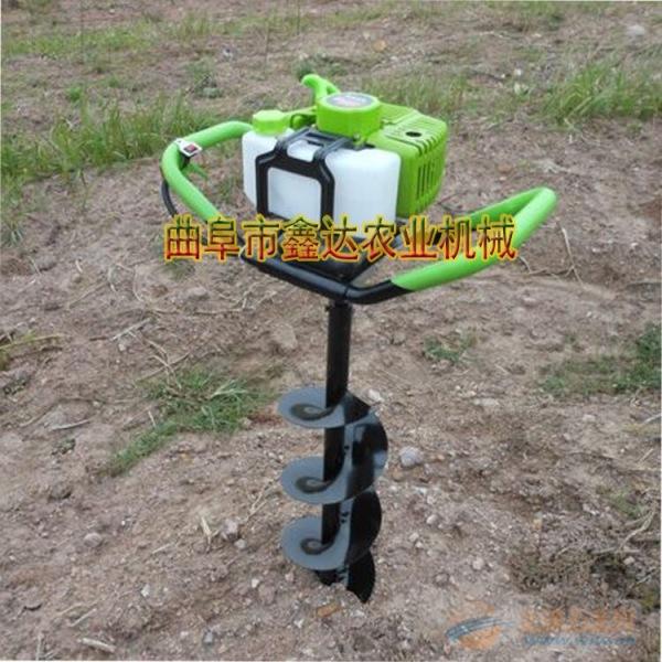 电动动力挖坑机