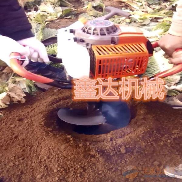 汽油挖坑机