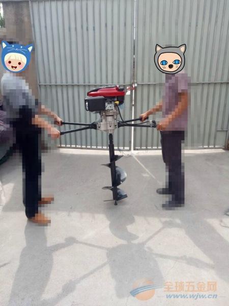 连云港 大功率植树打坑机 挖坑机适用于山地