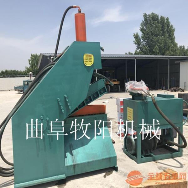 扬州废铁鳄鱼剪板机 金属液压钢筋截断机 废钢废铁剪切图片