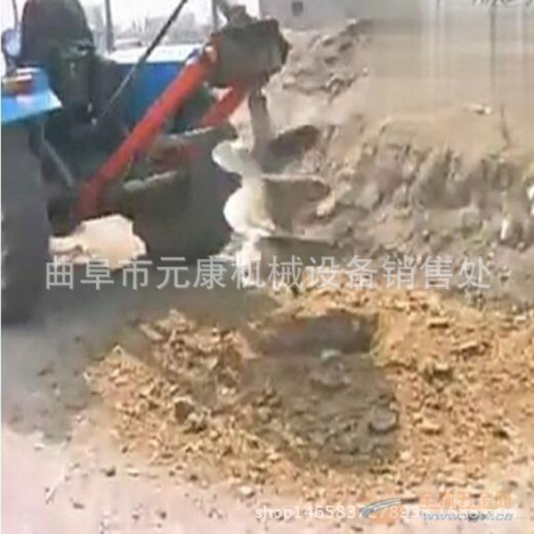园林植树钻孔机 苗圃汽油挖坑机 专业生产打坑机