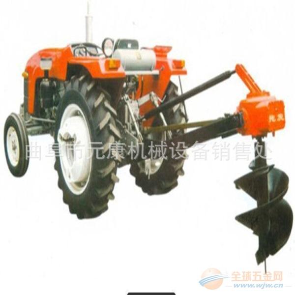 二冲程汽油钻坑机 高效汽油挖孔机 挖坑栽树机