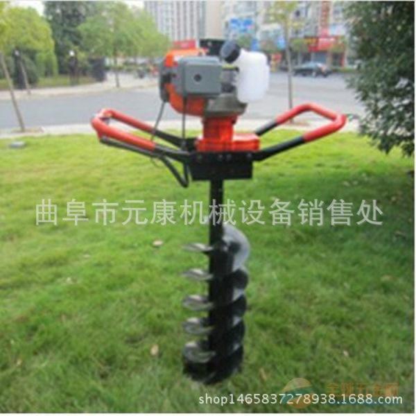 高效率手持挖坑机 立柱打眼机价格 专业生产植树机