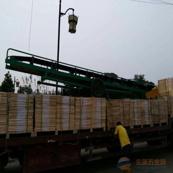供应装卸货皮带输送机价格 升降式皮带输送机元康定做