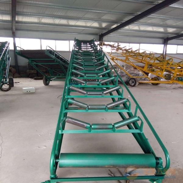 供应粮食入仓输送机 供应袋装粮食皮带输送机生产厂家