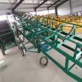 挡板式皮带输送机 供应肥料卸车用下坡皮带输送机