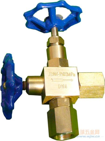 扬中天诚供应苏州J29W-160P(320P)压力表针型阀