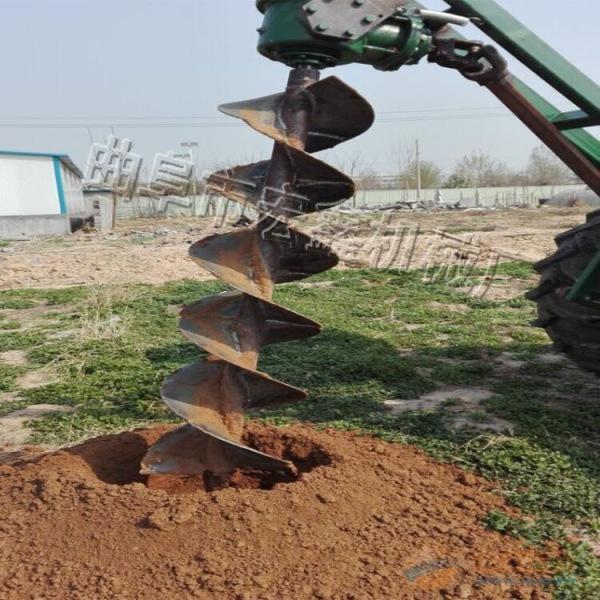 厂家现货批发挖坑机 座驾式拖拉机挖坑机 苗圃果园种树挖坑机