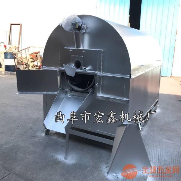 瓜子花生炒锅 小型滚筒式瓜子仁电瓶炒货机 不锈钢电加热炒货机