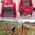 土豆马铃薯辣椒收割机 汽油机带动花生收获机 手推式黄豆收割机