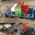 农用花生播种打药覆膜机 起垄覆膜机 四轮花生覆膜机价格