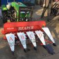 高杆芦苇玉米面专用割晒机 链条传动收割机 昆山晚稻收割机