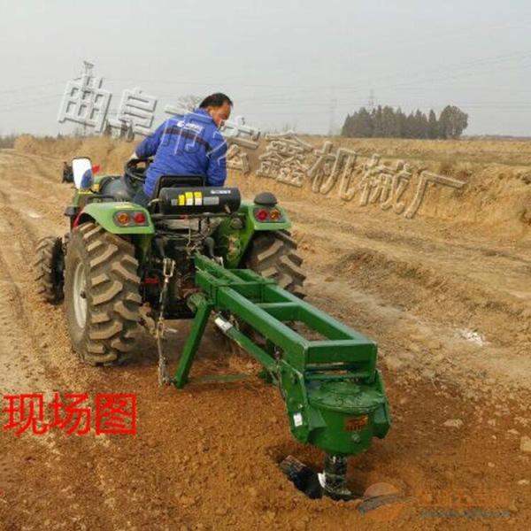 手提汽油挖坑机 大型支架挖坑机设备 栽树挖坑机图片