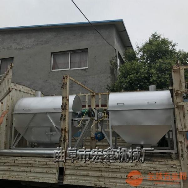 板栗黄豆炒货机 不锈钢滚筒炒锅 花生瓜子炒货机