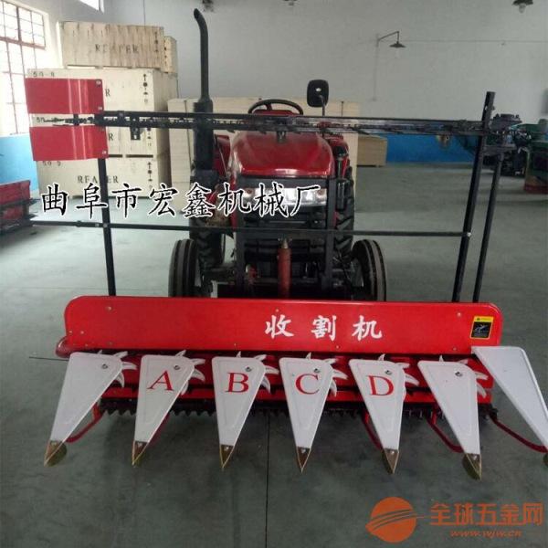 稻麦割晒机 新型药材收割机 黑麦草收割机