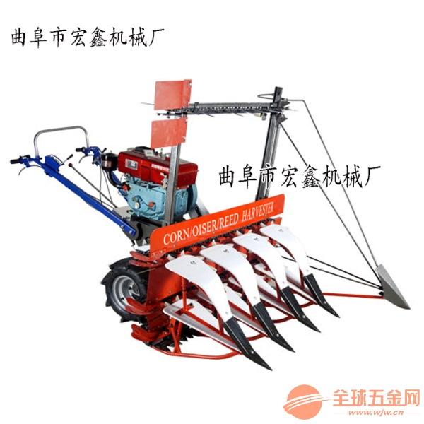 多用途苜蓿草艾草收割机 厂家前置式手扶收割机